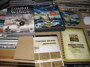 Combat Wings PC Cd-Rom Ausgabe Spanisch