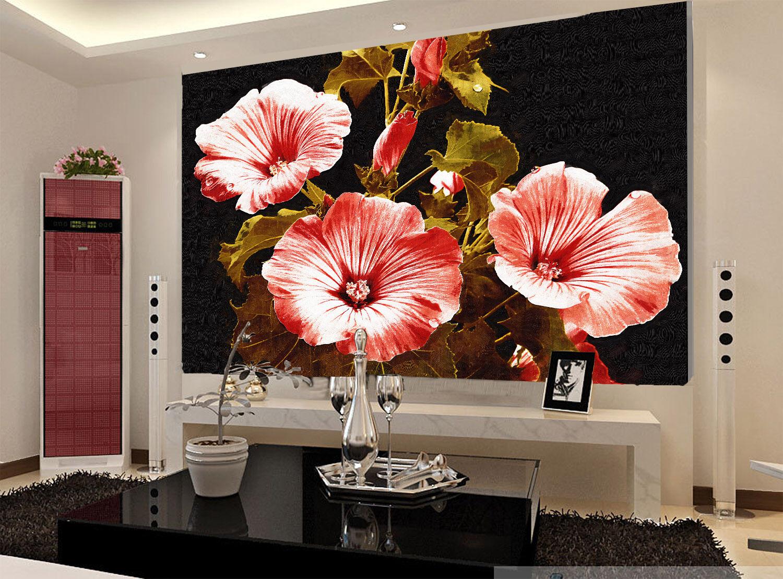 3D Mega Fresh Pure ROT Flowers 248Wall Paper Wall Print Decal Wall AJ Wall Paper