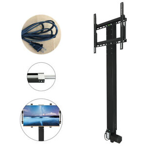 Motorized-TV-Lift-Bracket-Mechanism-for-32-034-70-034-TVs-lift-Stand-Mount-with-Remote