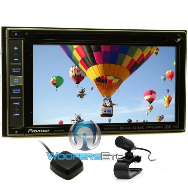 "PIONEER AVIC-5000NEX 6.1"" TV CD DVD MP3 USB GPS IPHONE NAVIGATION IPOD BLUETOOTH"