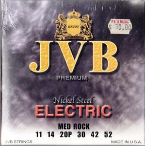 034-JVB-034-Brand-11-52-Medium-Rock-GAUGE-STRINGS-SET-MADE-in-USA-NEW
