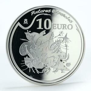 Spain-10-euro-Joan-Miro-painters-morning-star-proof-silver-coin-2012