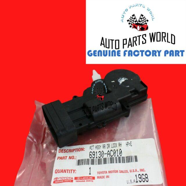 Door Lock Actuator for Toyota Avalon 00-04 Sequoia Sport Utility 01-07 Rear Left