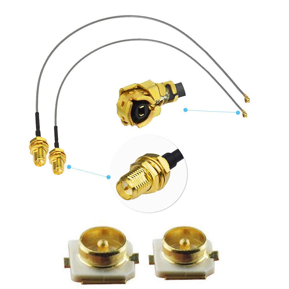 SMA Male Plug to IPX UFL Male Plug Center RF Adapter Connector Nice FDBU