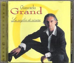 GIANCARLO-GRAND-RARO-CD-FUORI-CATALOGO-034-LA-VOGLIA-DI-VIVERE-034-VALERIO-LIBONI