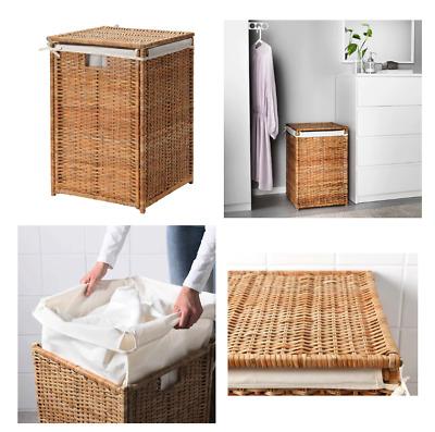 Ikea Korb Wäschesack Gestell Weiß Wäschekorb Wäscheaufbewahrung Wäschesammler Ebay
