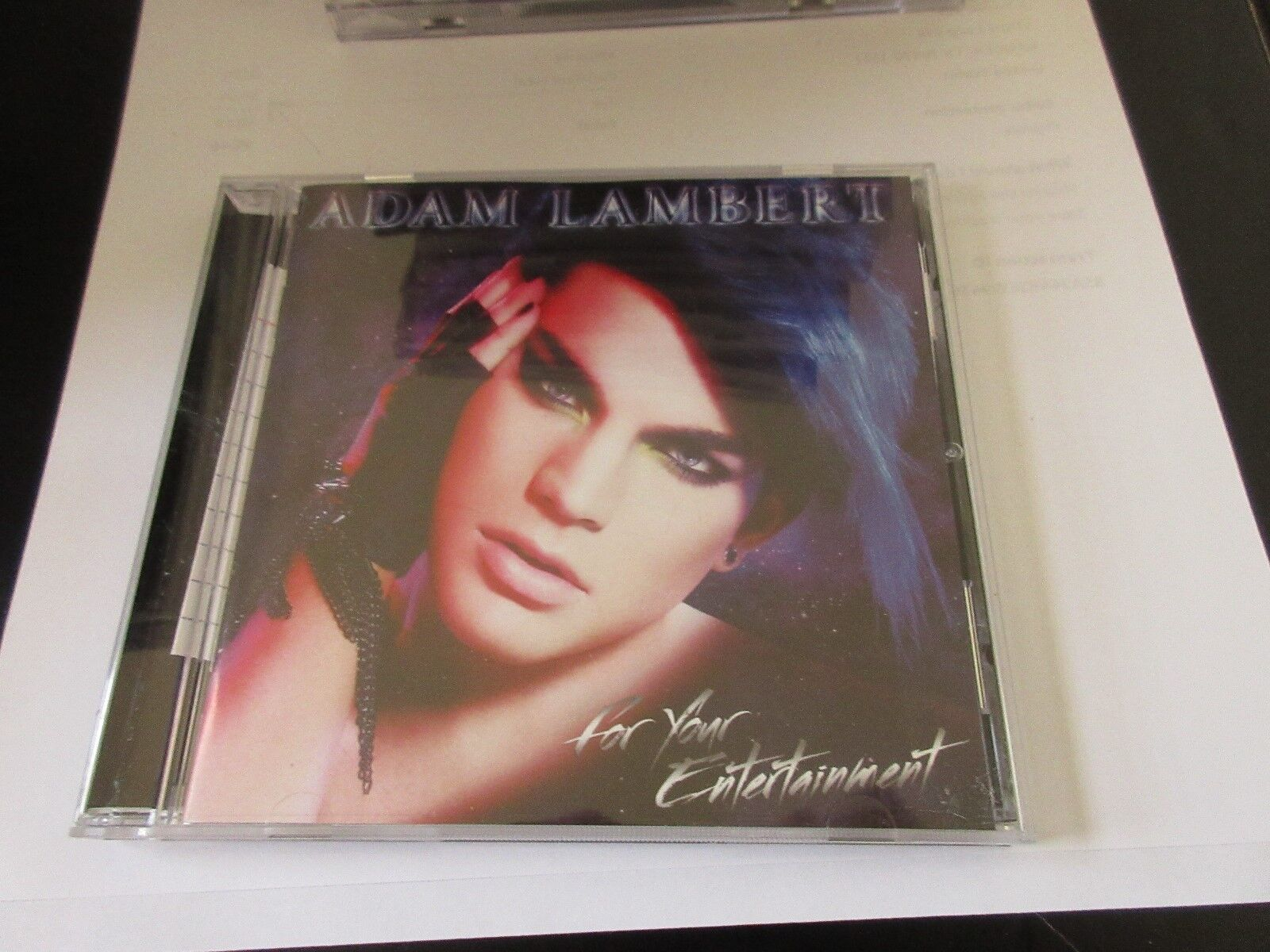 Adam Lambert , For Your Entertainment , CD 888430567023