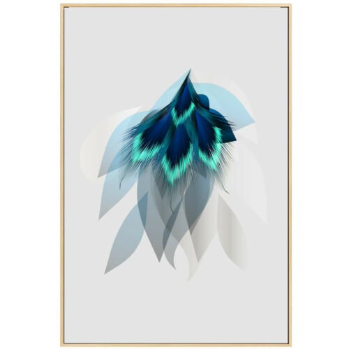 Feathers Canvas Poster Unframed Picture Living Room Wall Home Art Decor