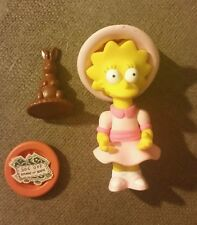 The Simpsons Sunday Best Lisa Playmates World of Springfield Figure Series 9 WOS