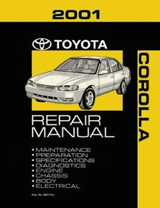 2001 toyota corolla shop service repair manual ebay rh ebay com 1998 toyota corolla service manual pdf 1998 toyota corolla owners manual free download