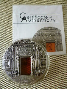 AMBER CHAMBER Room Saint Petersburg 2 Oz Silver Coin 10$ Palau 2009 - Italia - AMBER CHAMBER Room Saint Petersburg 2 Oz Silver Coin 10$ Palau 2009 - Italia