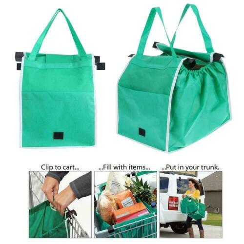 Grocery Storage  Shopping Tote Bags Cart Bag Eco Foldable Reusable Trolley