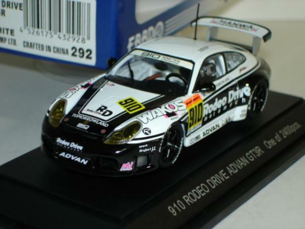 Ebbro 1 43 Porsche JGTC 2002 GT300 from Japan