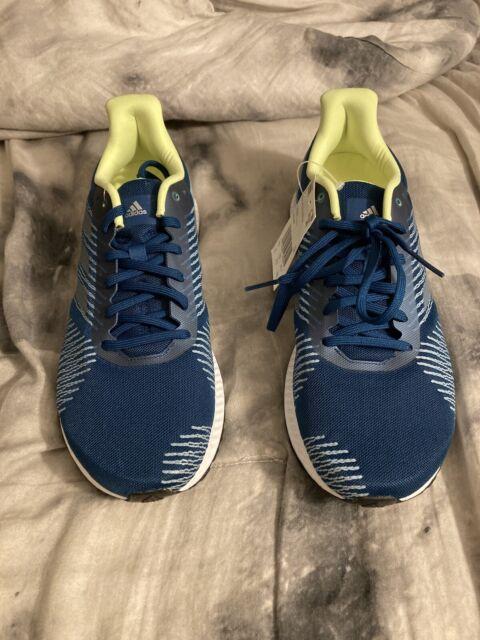 *NEW* Adidas Solar Blaze Casual Running Shoes Blue DB3483, Mens Sz 9