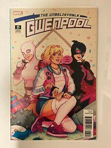 Unbelievable Gwenpool #25 Jen Bartel Variant Cover HTF NM