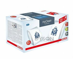 Miele GN HyClean 3D Efficiency Dust Bag & Filter XXL Pack, MLE10408410