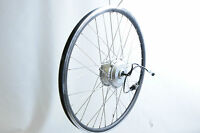 Wheel With Electric Front Wheel Drive Hub Motor 36v Volt 250w Watt E Bike Etc