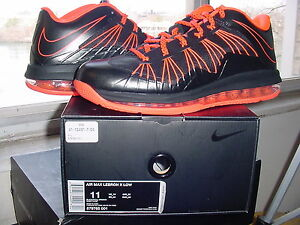 brand new 3544a 2c859 Image is loading Nike-Air-Zoom-Max-LeBron-James-X-10-