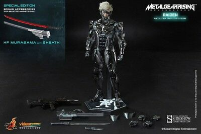 Hot Toys VGM 17 Metal Gear Rising Revengeance Raiden Normal Version NEW