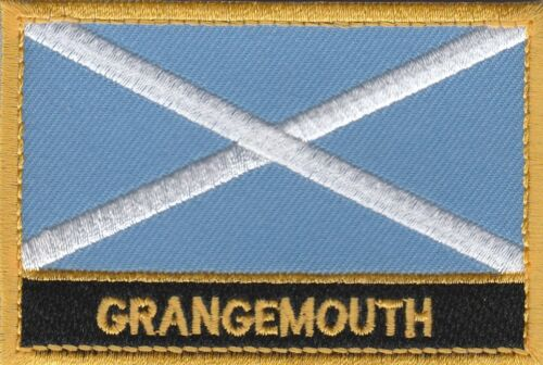 Grangemouth Scotland Town /& City Embroidered Sew on Patch Badge