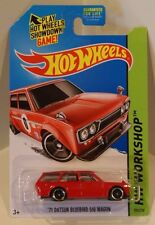 '71 Datsun Bluebird 510 Wagon 2014 HW Workshop ERROR NAKED RED Jun Imai VHTF