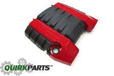2010-2014 Chevy Camaro SS Engine Cover V8 Engine Victory Red OEM NEW