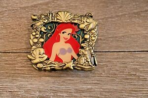 Disney-WDI-Stained-Glass-Princess-Series-Little-Mermaid-Ariel-Pin-Le-300