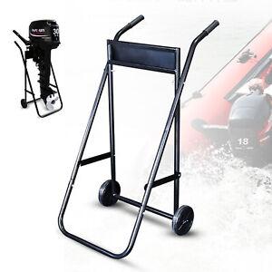 Außenbordmotor Transportwagen Boot Trailer Transport Trolley Cart Motorständer
