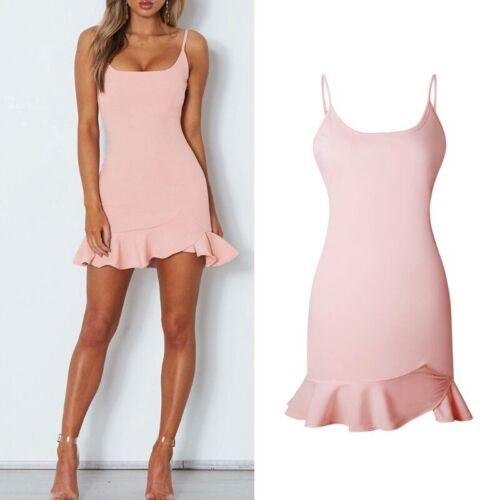 Chiffon cute Mini  Women/'s  Summer  Beach  Dress  Boho  Evening  Sundress Party