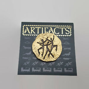 Artifacts-JJ-Gold-Tone-Stick-Figure-People-Tac-Style-Pin