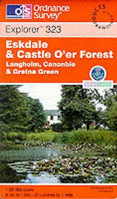 Eskdale and Castle Oer Forest (Explorer Maps), Ordnance Survey, Used; Good Book