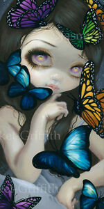 Jasmine-Becket-Griffith-art-BIG-print-SIGNED-A-Confusion-of-Wings-butterfly-girl