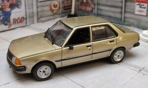 Renault-18-GTL-1986-Colombian-Rare-Diecast-Scale-1-43-New-In-Box