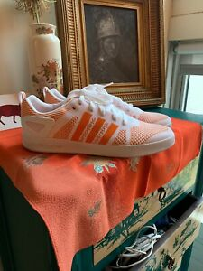 edb18d430e7 Details about Adidas x Palace Skateboard Pro Primeknit Orange / White US  Size 10