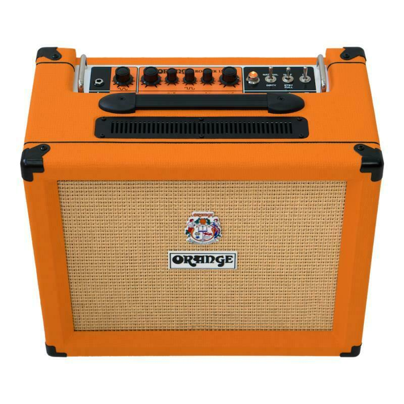 Orange Rocker 15 Combo, Orange