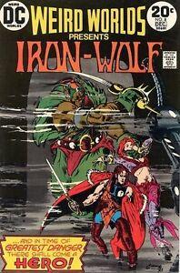 WEIRD-WORLDS-8-Good-Iron-Wolf-Begins-DC-Comics-1973