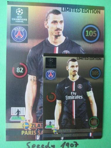 Champions League 2015 UPDATE Limited Edition XXL Ibrahimovic Panini Adrenalyn 15