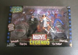 Urban Legends Lot De 4 Figurines Marvel Toy Biz Mib Gv