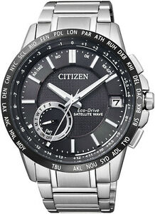 CITIZEN Stainless Steel Eco-Drive Satellite Wave Watch CC3005-51E