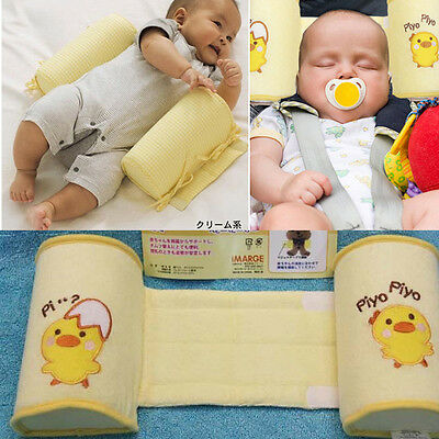 NEW Baby Toddler Safe Cotton Anti Roll Pillow Sleep Head Positioner  1007