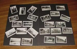 1928-UCV-RPPC-SET-REUNION-PARADE-LR-ARKANSAS-ORIGINAL-NEGATIVES-DEALER-LOT-REPRO
