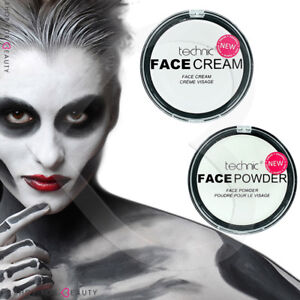Technic-White-Foundation-Cream-Face-Paint-or-Powder-Halloween-Goth-Makeup
