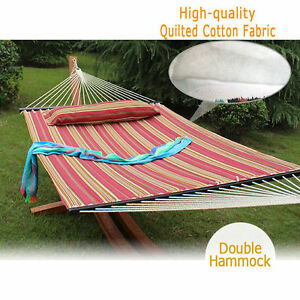 bar person fabric sturdy stylish quilted hammocks lazy duty for with lazydaze two heavy hmqf double spreader pillow daze tan size hammock