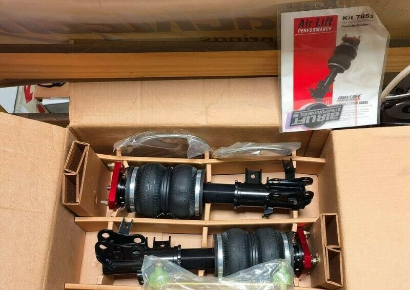 New Airlift Performance 9th Gen Honda Civic Front Air Suspension kit