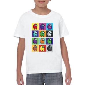 Among Us Kids Adults Sus Bro Imposter T-Shirt Crewmate Gaming Printed Gift Tee 2
