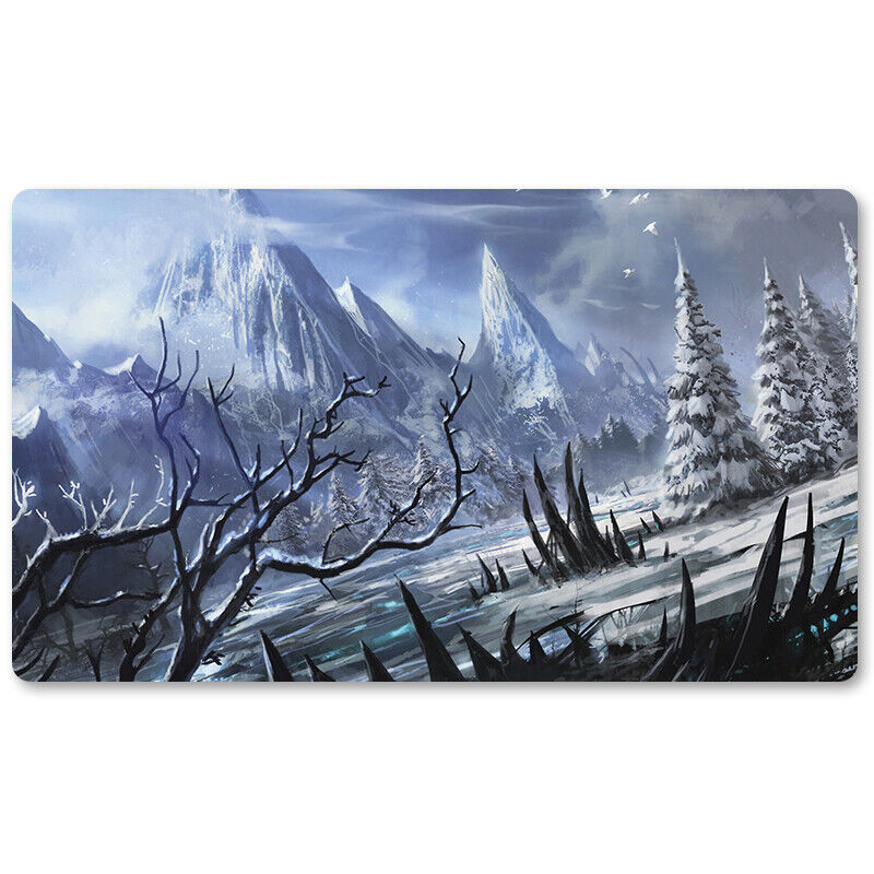 Wooded Foothills-Board Game MTG Playmat Table Mat Games