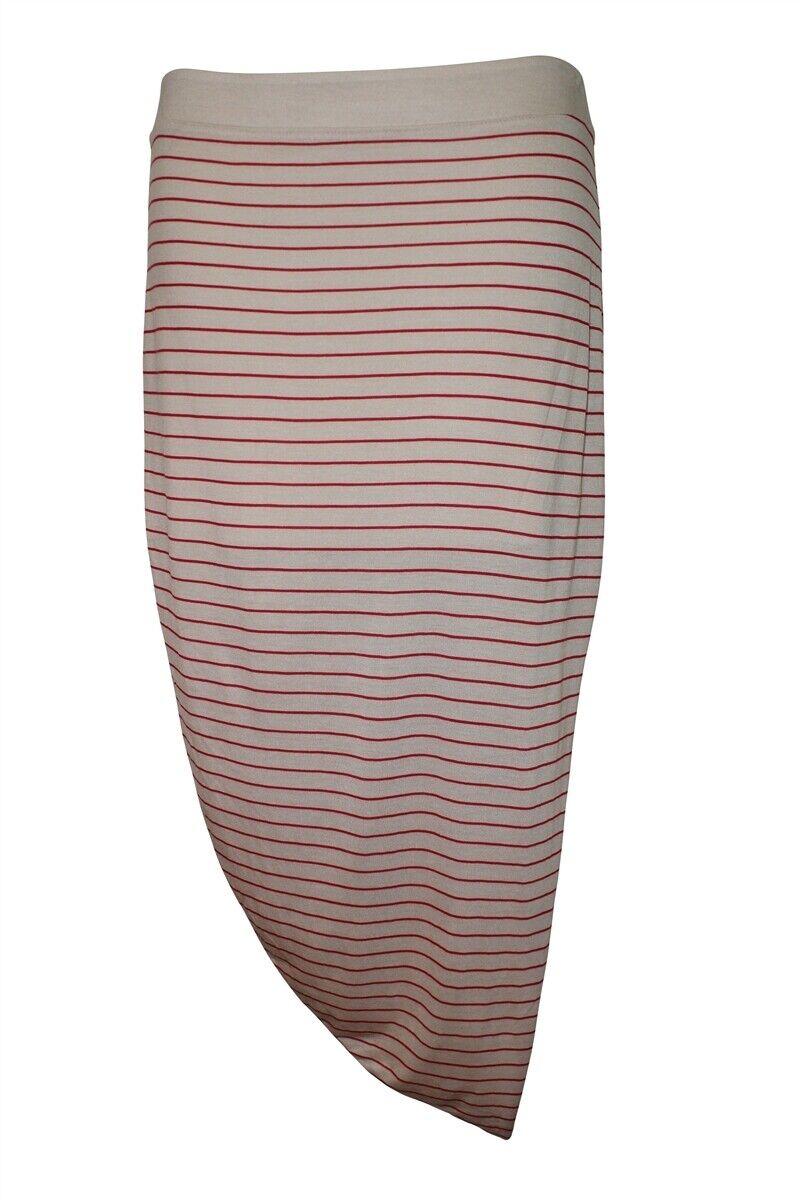 Jersey Asymmetrical Drape Skirt By Free People (S)