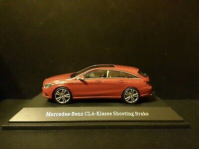 KYOSHO MERCEDES BENZ CLA CLASS SHOOTING BRAKE X117 RED CAR MODEL B66960349 1:43