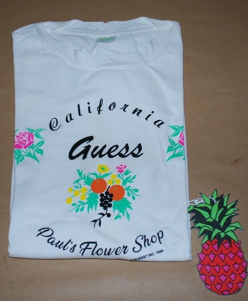 Guess Jeans x Sean Wotherspoon Farmers Market Paul's Flower Shop T-Shirt- XLarge