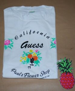 0a55107ab2d1 Guess Jeans x Sean Wotherspoon Farmers Market Paul's Flower Shop T ...